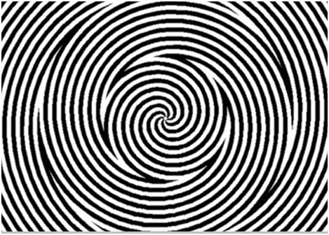 spirale illusions d'optique