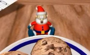 le Père Noël a faim